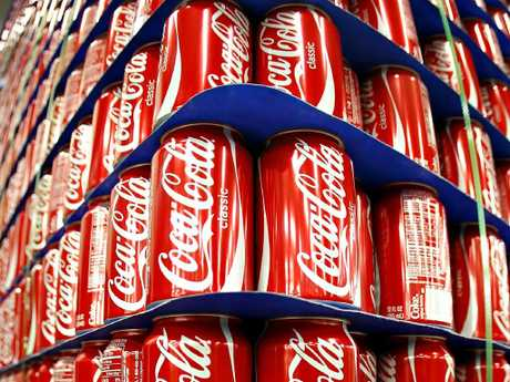 The Cancer Council is highlighting the link between sugary drinks and 13 types of cancer. Picture: George Frey/Bloomberg News