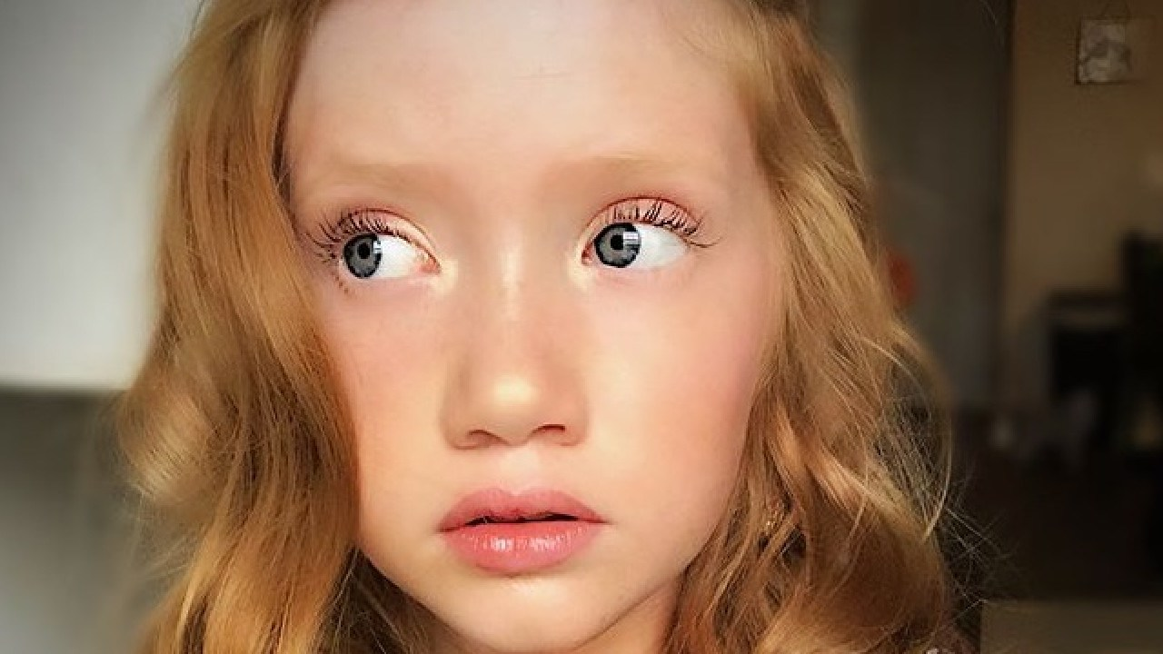 Makenna Kelly, 13, is making a fortune via her ASMR YouTube videos. Picture: Instagram