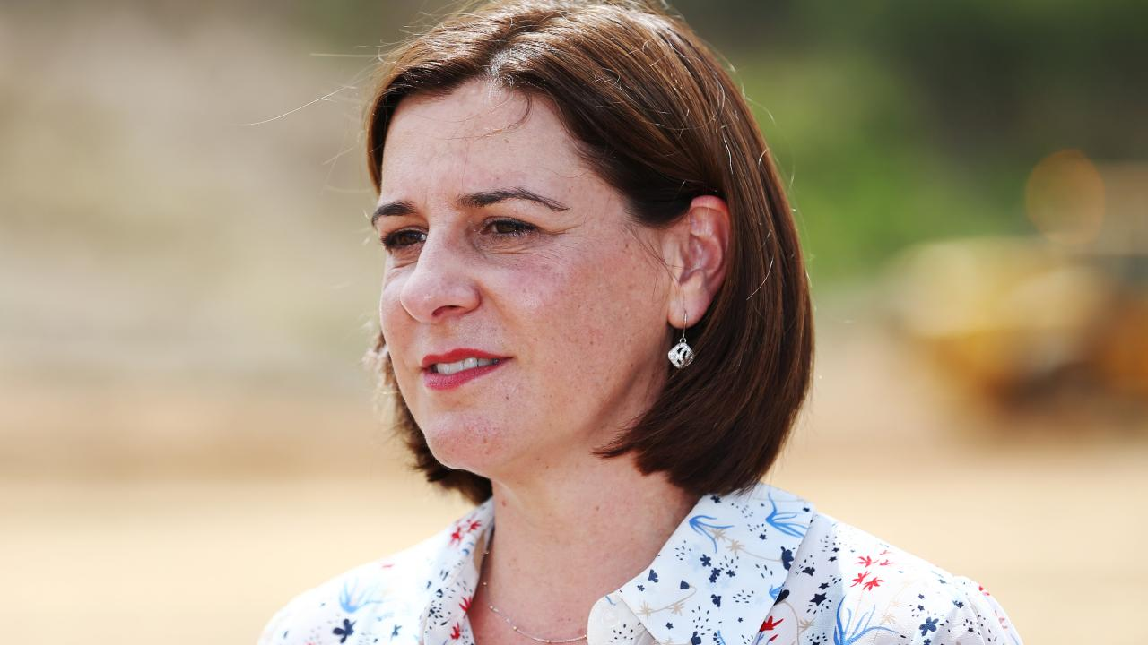 Opposition Leader Deb Frecklington in Cairns today. Picture: Brendan Radke