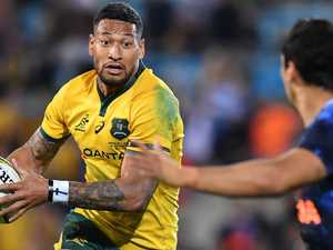 Outside shot! Folau set to play at No. 13 in Bledisloe III