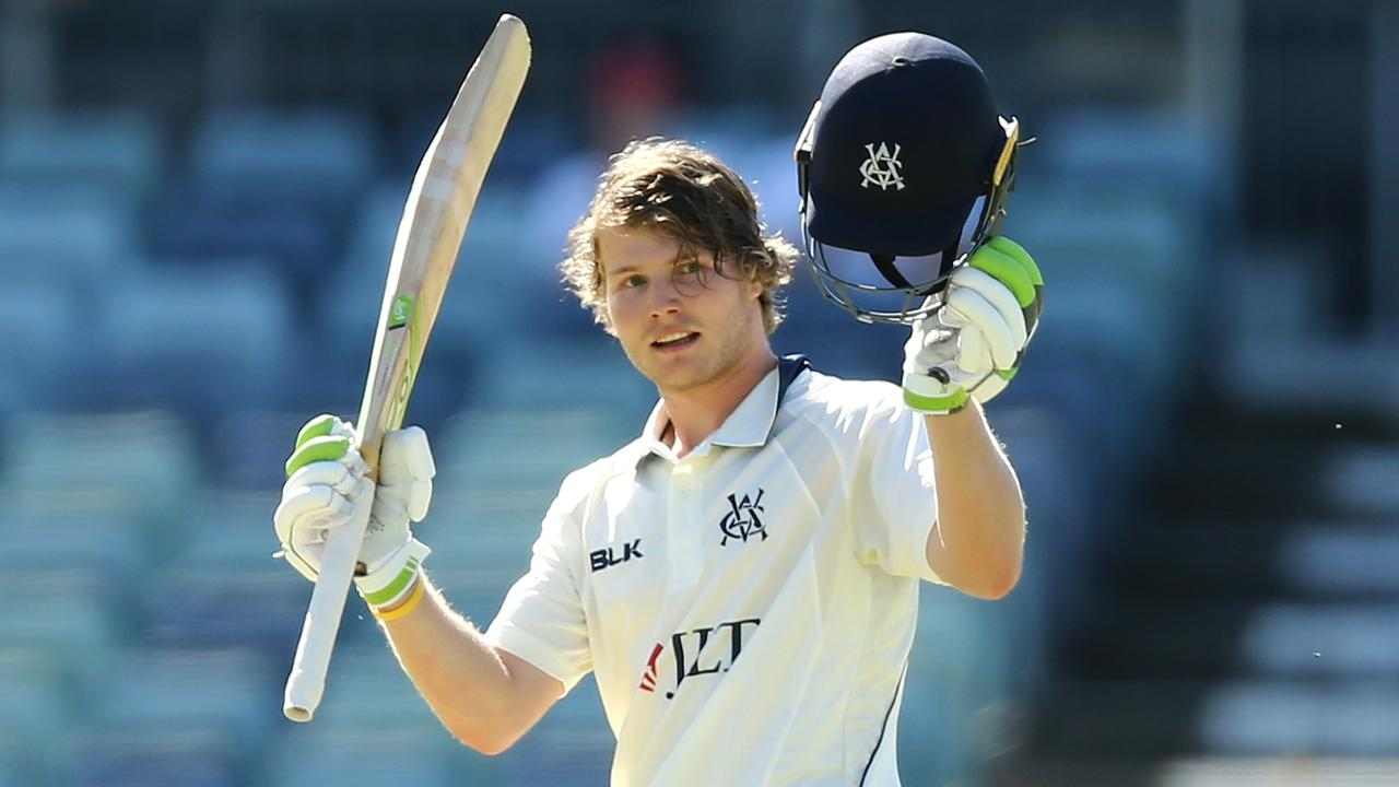 Will Pucovski scored a double-century to start his Sheffield Shield season.