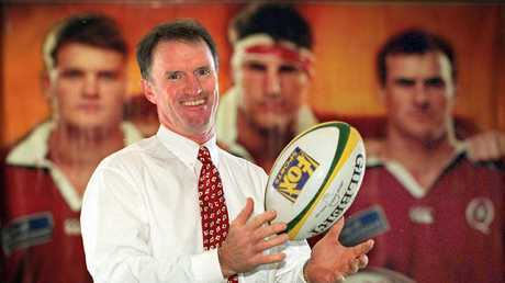 The smile wouldn't last for Andrew Slack, who only survived one season as Reds coach.