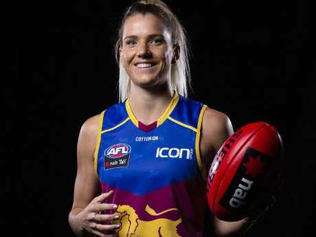 Brisbane's top draft selection Paige Parker.