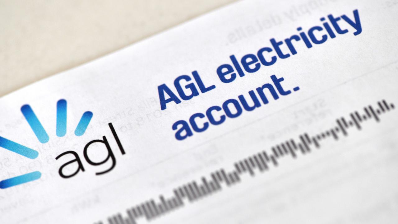 AGL power bill.