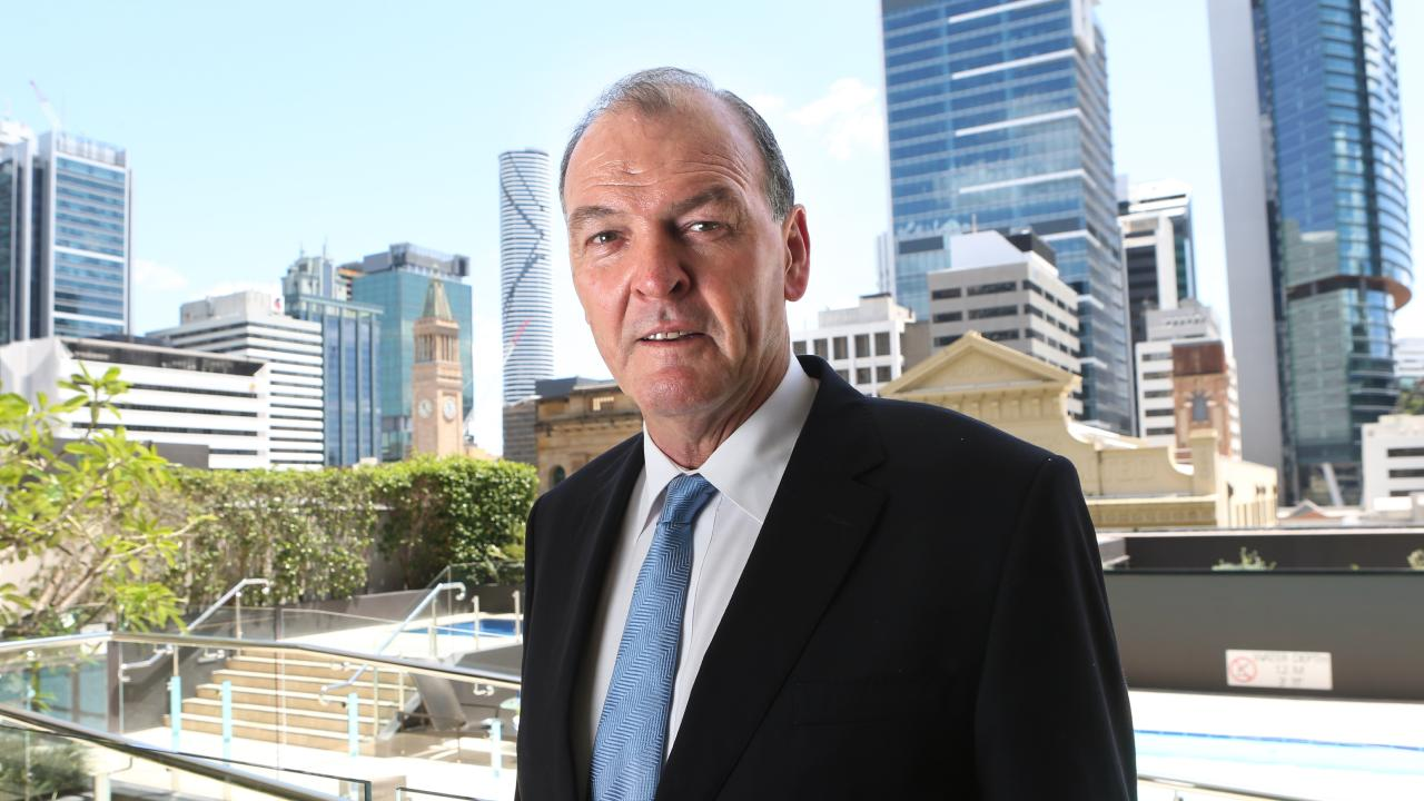 Hutchinson Builders managing director Greg Quinn. Picture: AAP Image/Richard Waugh