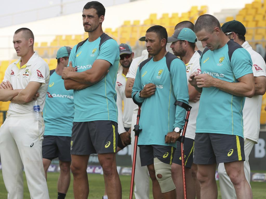 Usman Khawaja is racing the clock to be fit for the first Test of the summer.