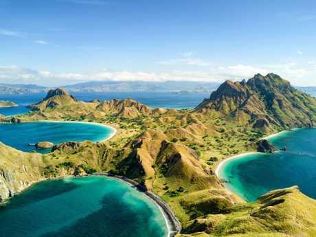 Pulau Padar, Komodo National Park, Indonesia. Picture: Danaan / Shutterstock