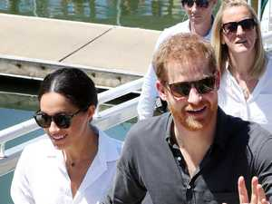 'Blown away': Harry and Meghan jet out of Oz