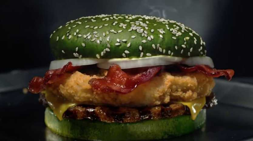 The Burger King Nighmare King burger Picture: Burger King/ Austral Scope