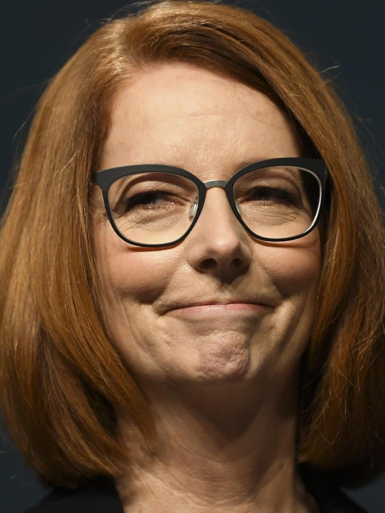 Ex-PM Julia Gillard. Picture: Lukas Coch/AAP