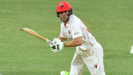 Jake Lehmann showed plenty of maturity in his match saving 33 against NSW.