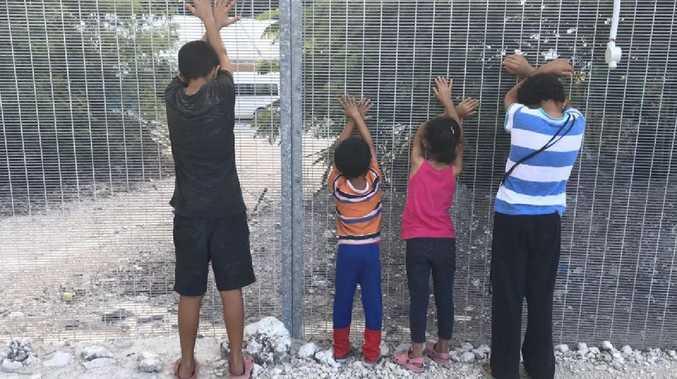 Children on Nauru.