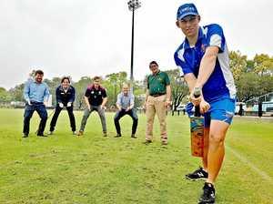 Cricket tour bowls for mental health