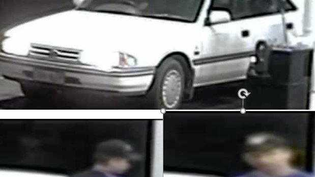 Police search for car thief