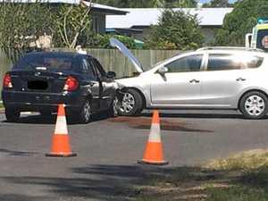 UPDATE: Southside crash puts man in hospital, blocks road