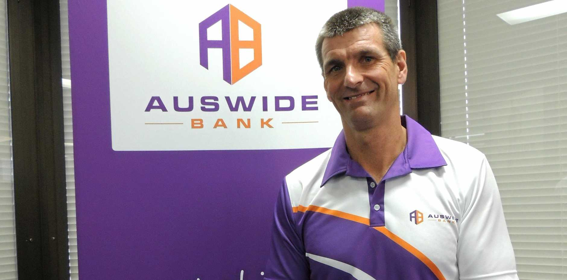 Auswide Bank's managing director Martin Barrett said the bank