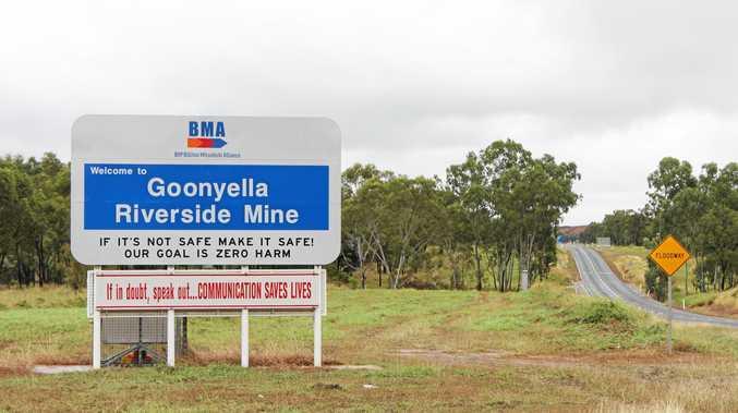Goonyella Riverside Mine in the Bowen Basin.