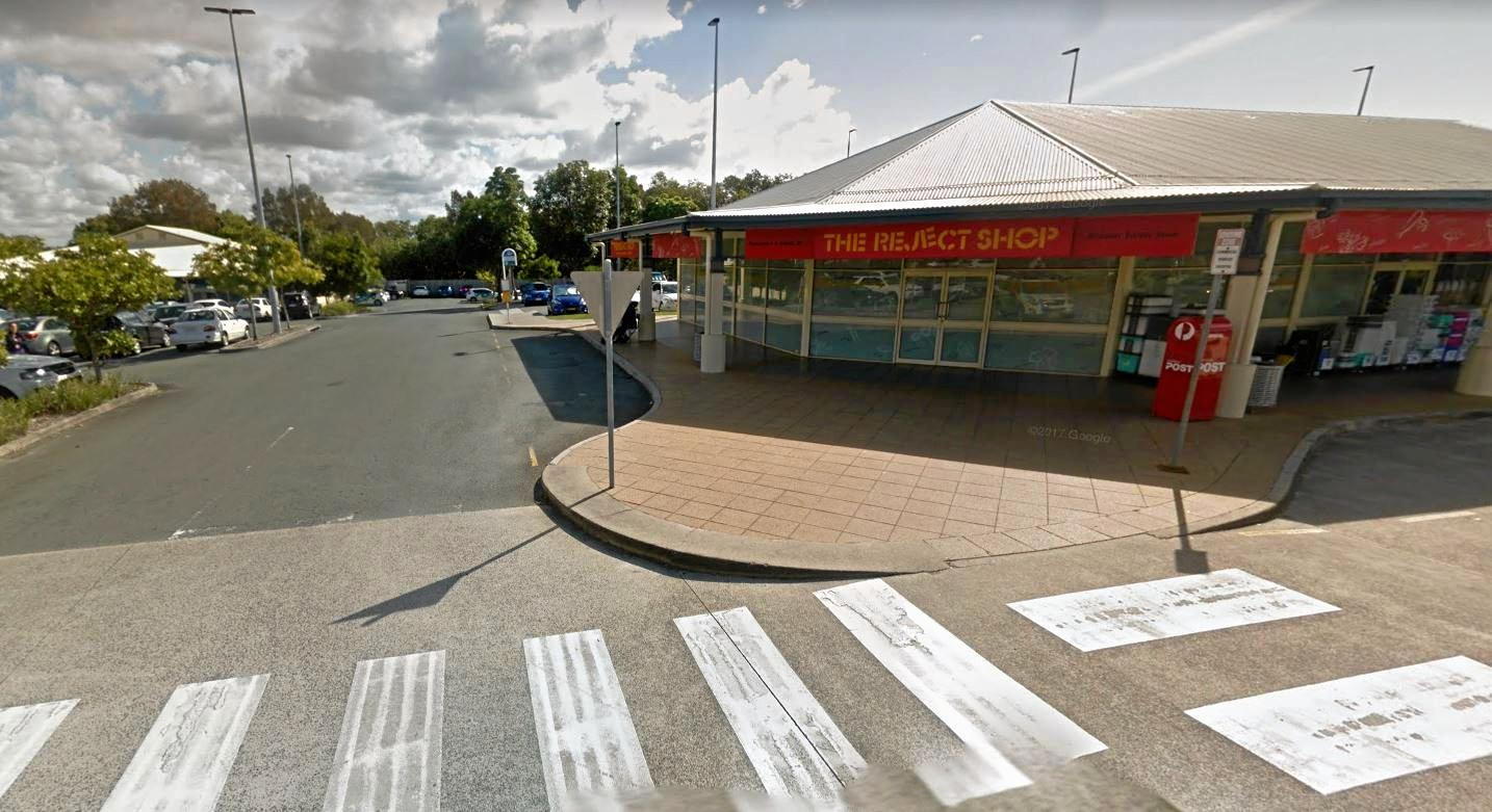 The alleged shooting occurred outside the Reject Shop at Currimundi.
