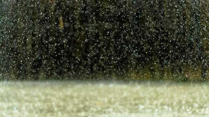 Large hailstones set to bear down across region