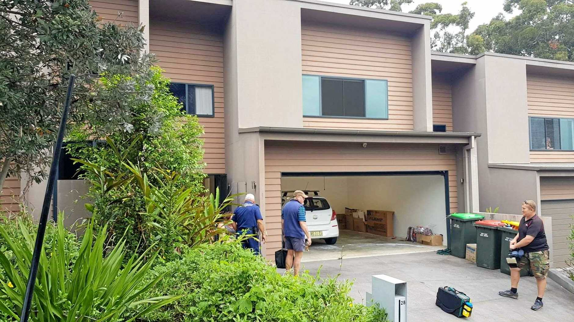 Two women have been hospitalised after a balcony collapsed at a Coffs Harbour home this evening.