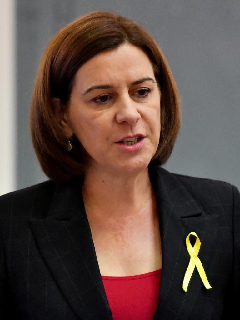 Opposition Leader Deb Frecklington