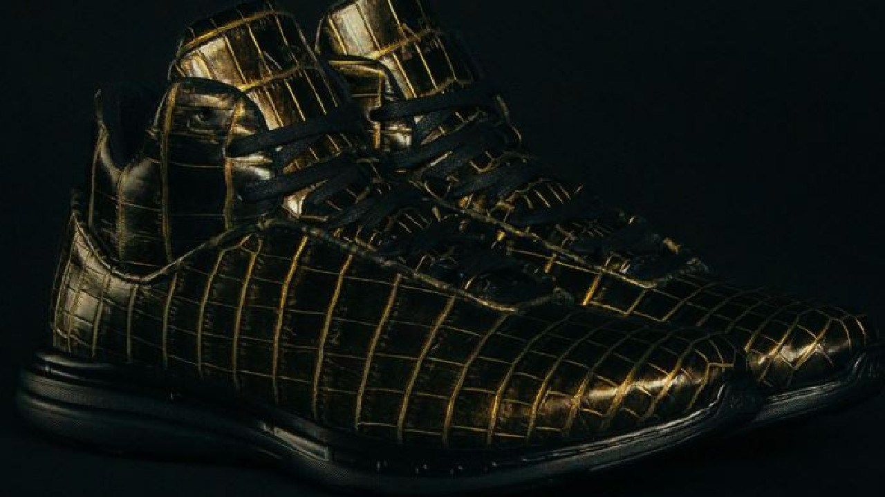 Next-level luxury! APL's $US20,000 made-to-order 'Lusso Supreme' sneakers. Picture: Supplied