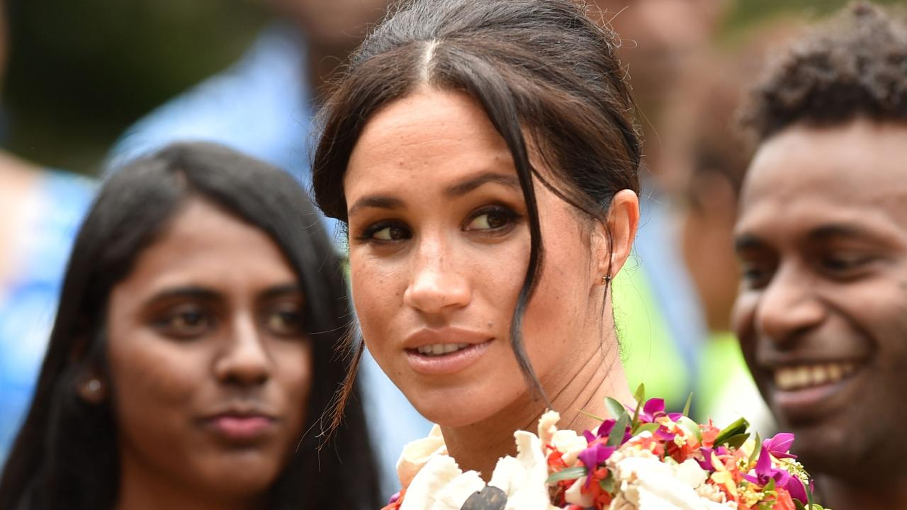 Meghan Markle has changed her outfits for Fiji