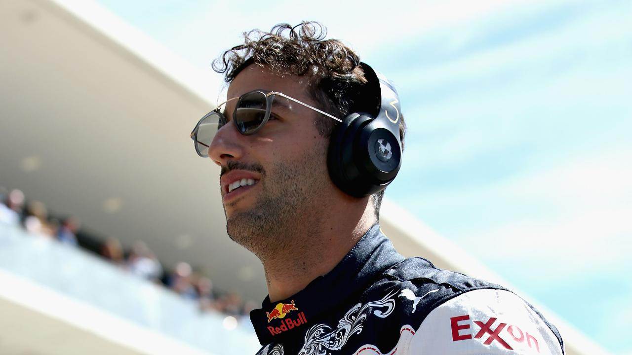 Daniel Ricciardo suffered his seventh retirement of the season in Austin.