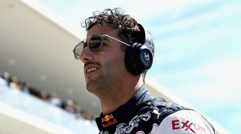Daniel Ricciardo suffered his seventh retirement of the season in Austin.
