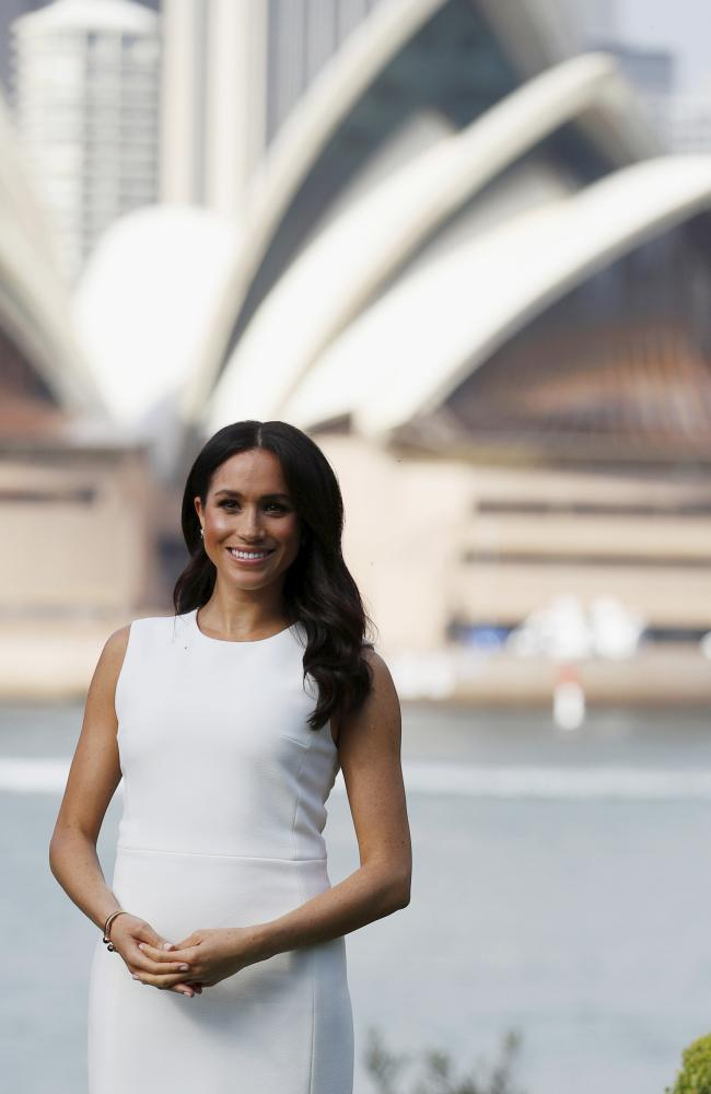 Images  of Meghan Markle visiting iconic Aussie tourist spots have beamed around the world. Picture: Phil Noble/Pool via AP