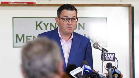 Victorian Premier Daniel Andrews has announced that Victoria will hold a royal commission into mental health if Labor is re-elected next month. Picture: Alex Murray/AAP