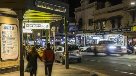 The Newtown Hotel's anti-Cup event seems to be a hit with progressive, Greens-voting locals. Picture: Damian Shaw