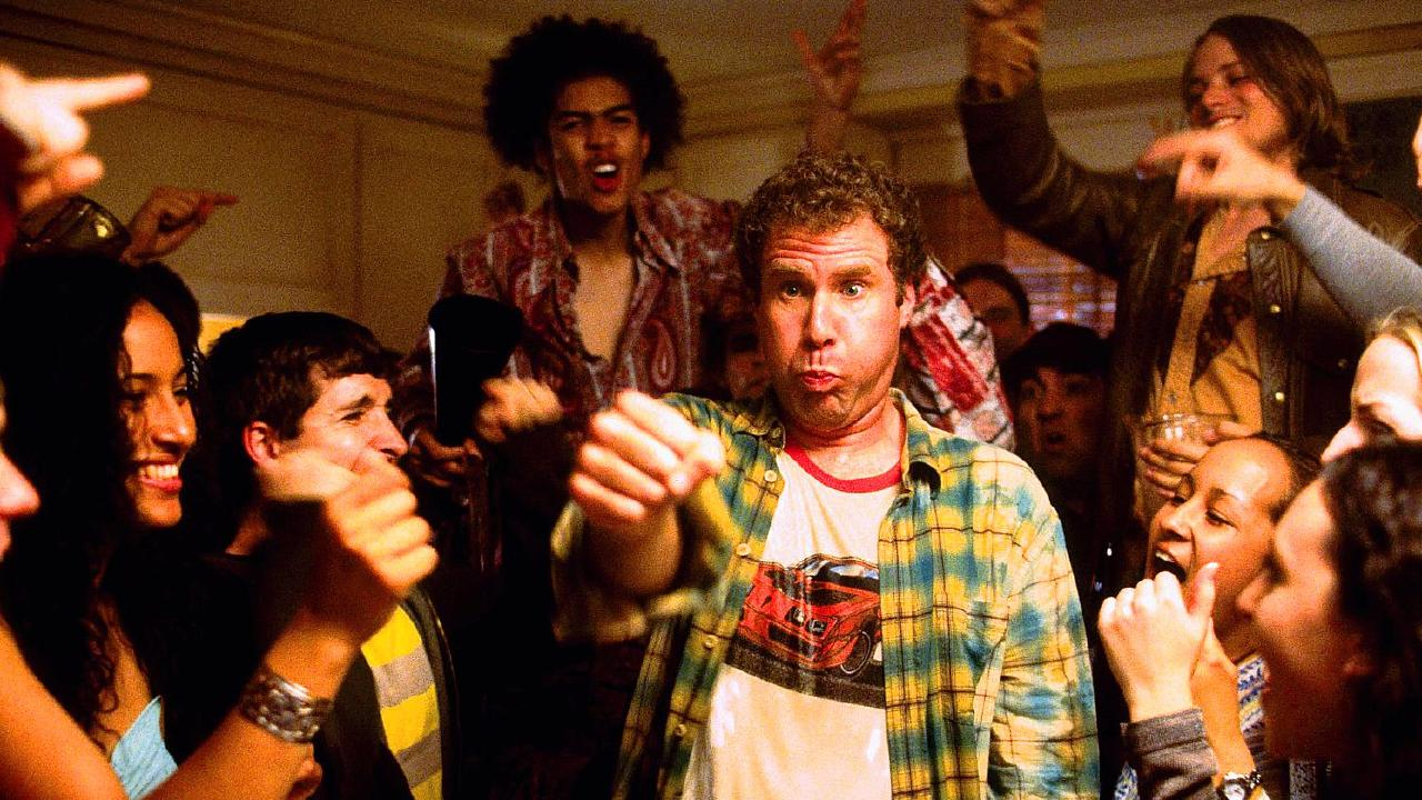 Will Ferrell, AKA Frank the Tank, had one of the great streaks in the movie Old School.