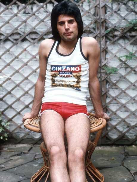 A young Freddie Mercury.