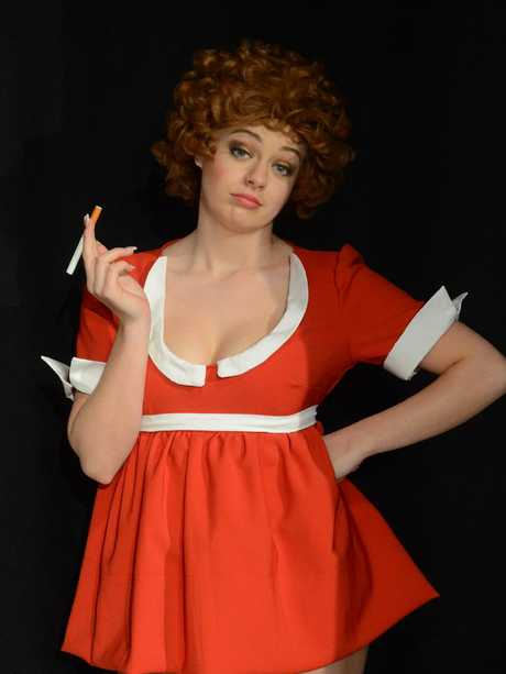 Sabrina Durante previously performed Annie for Forbidden Broadway.