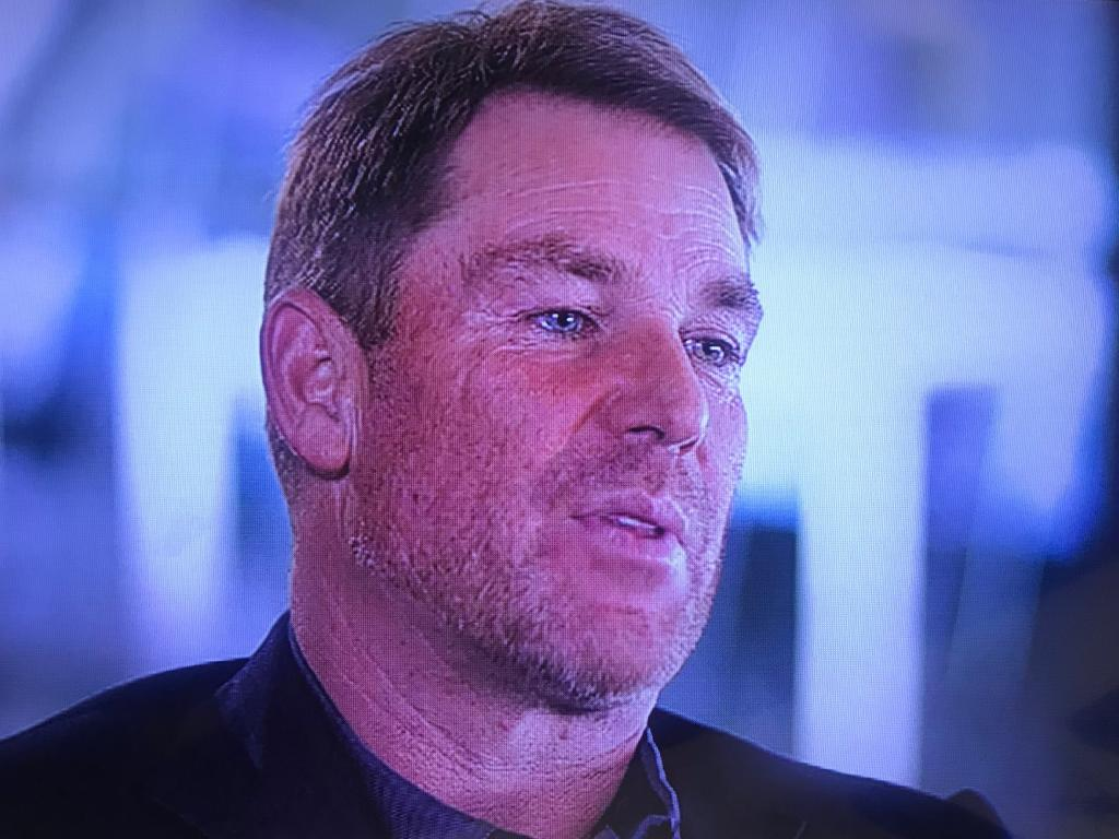 Shane Warne on ABC's 7:30 report
