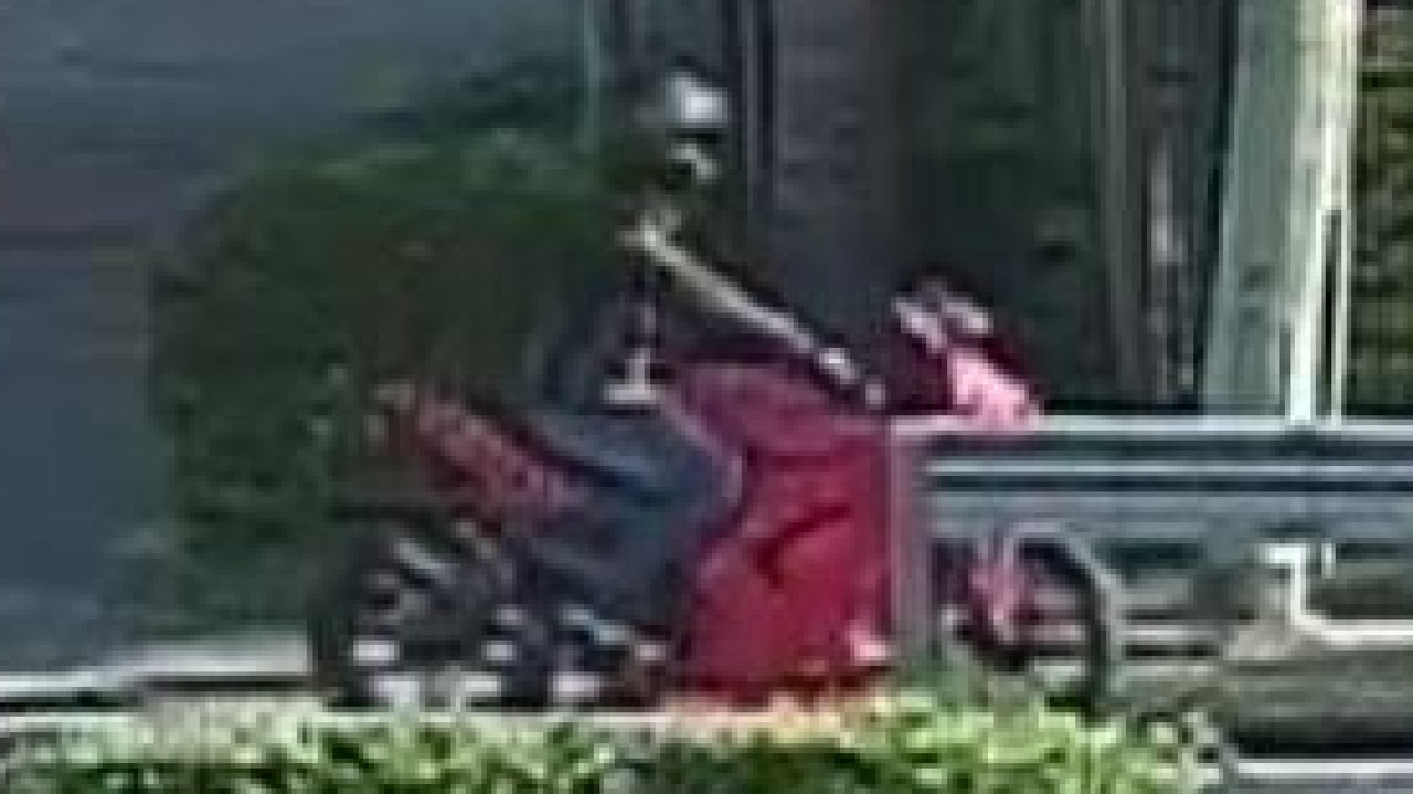Police need help to identify a motorbike captured in CCTV after a young boy was injured south of Brisbane yesterday.