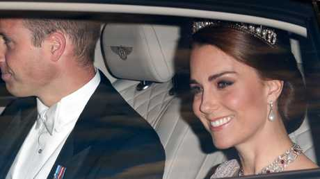 Kate wore the tiara last year, along with a stunning ruby and diamond choker necklace. Photo: Max Mumby/Indigo/Getty Images
