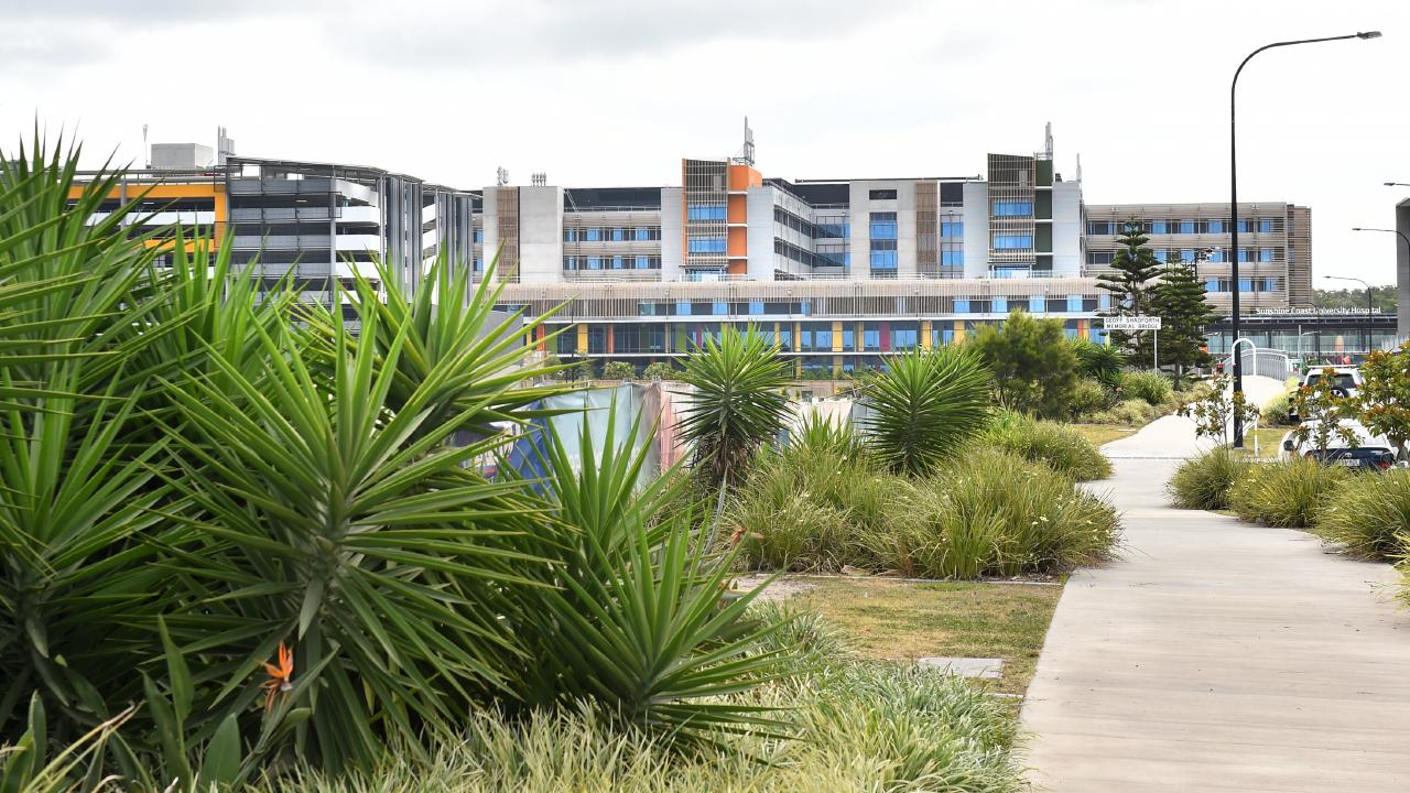 Sunshine Coast University Private Hospital is short of the mark in terms of meeting time frames. Picture: John McCutcheon