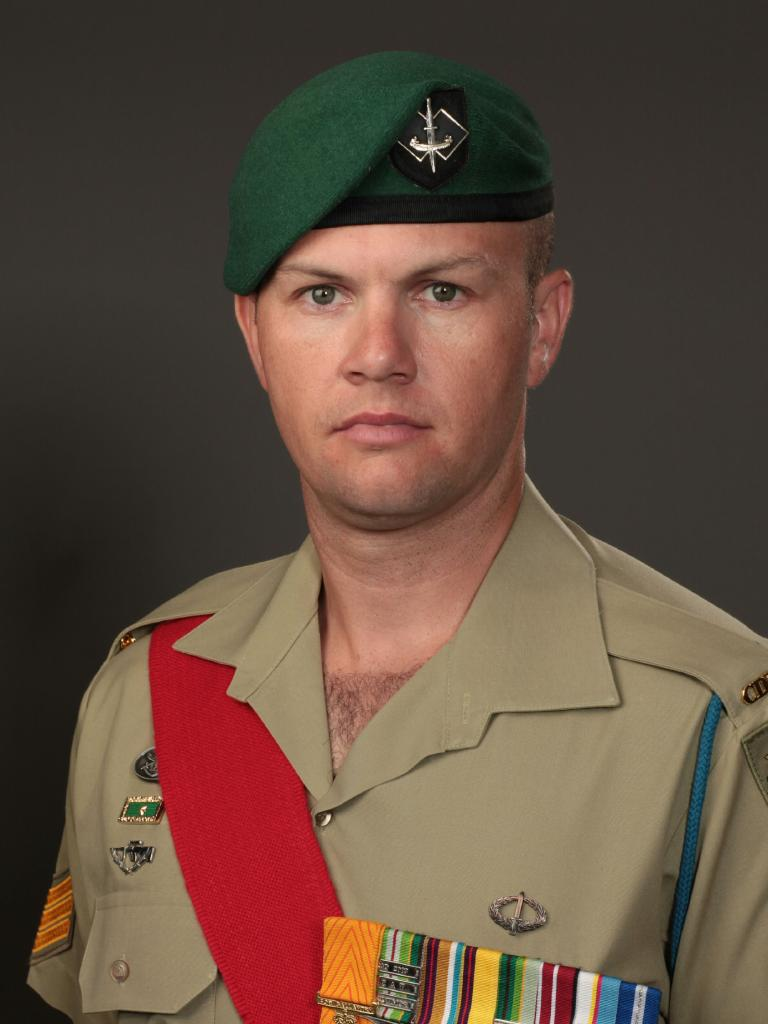 Commando Sergeant Brett Wood was serving with the Special Operations Task Group (SOTG) when he was killed by an IED.