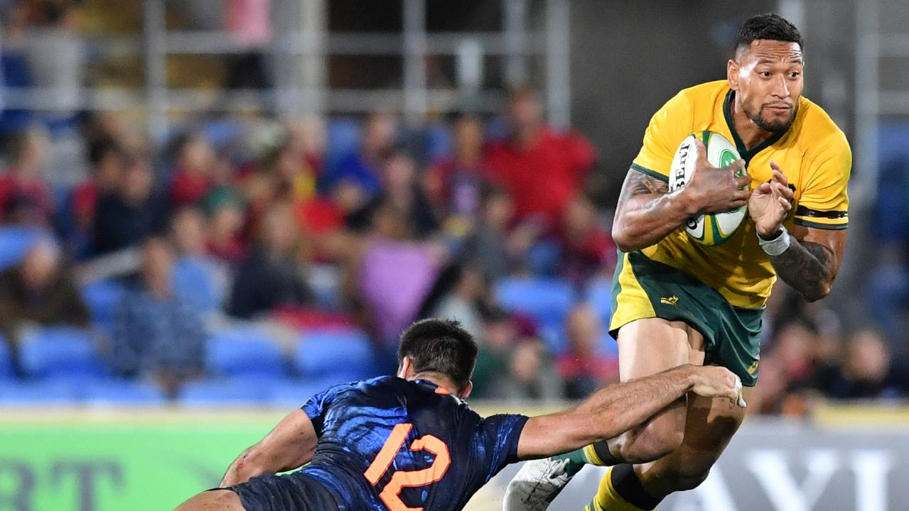 Israel Folau knocked back richer deals to stay with Australian rugby (AAP Image/Darren England)