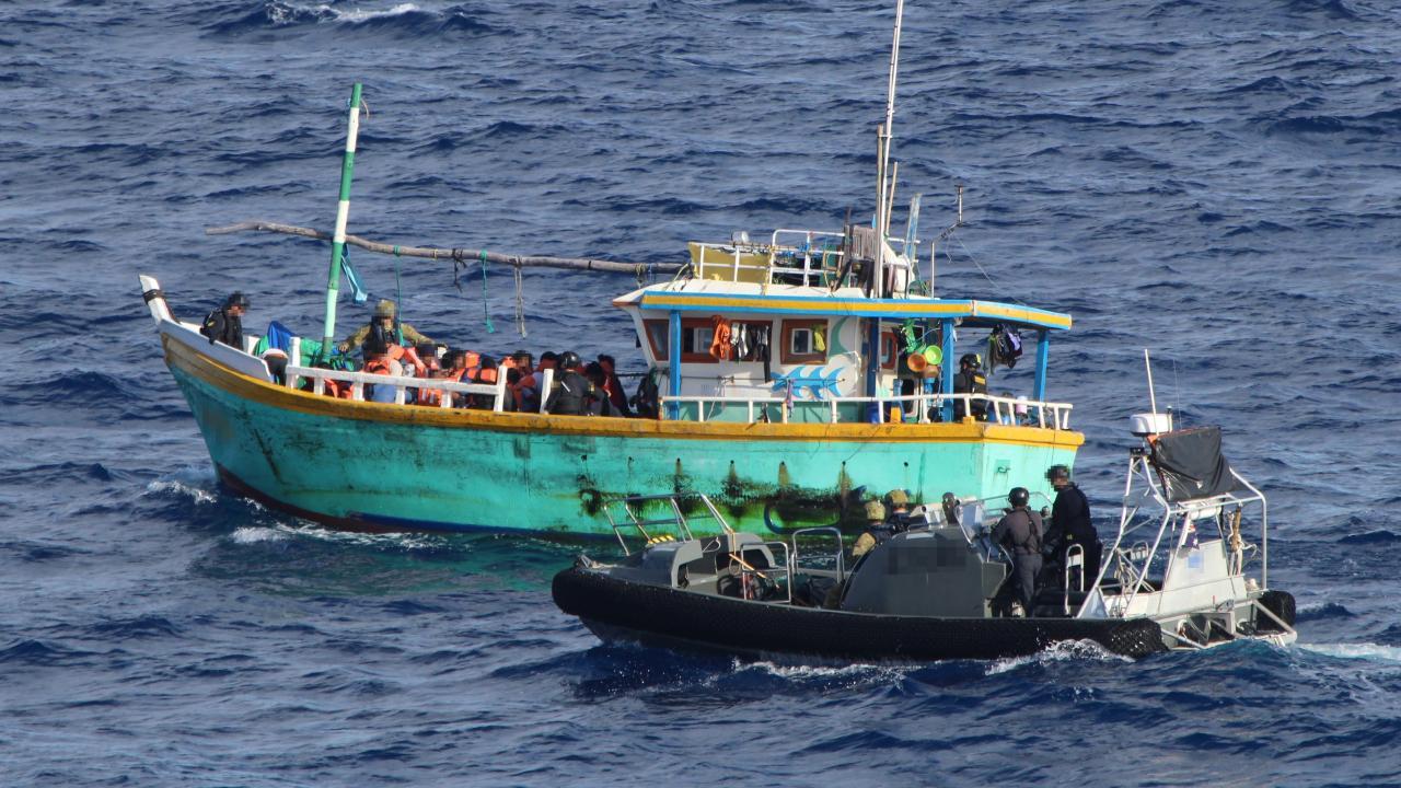 Operation Sovereign Borders (OSB) commenced in September 2013.