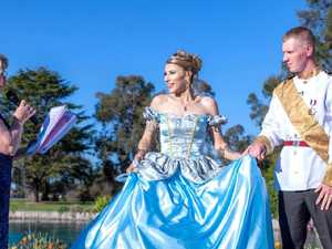 Bride throws magical Disney-themed wedding