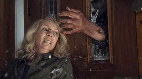Jamie Lee Curtis returns to play Laurie Strode. Picture: Ryan Green