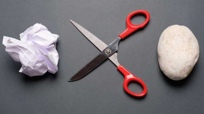 Never lose at scissor, rock, paper again.