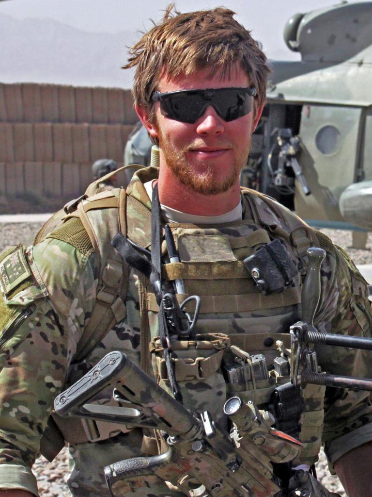 Sapper Rowan Robinson was mortally wounded by a Taliban sniper in 2011.
