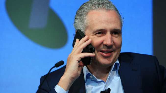Telstra shareholders voted against a pay rise for CEO Andy Penn last week. But the chair believes the company has to pay huge amounts to attract the best talent. Picture: Aaron Francis/The Australian