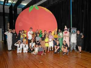 Young talent takes centre stage in real peach of a show