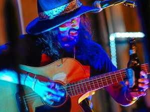 Beer bottle slide guitarist 'El Mariachi' returns to Crow St