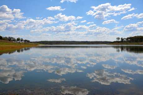 BLOOMING BOONDOOMA: Dam levels are back up to 41.3 per cent.
